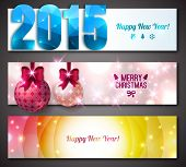 New Year 2015 Banners.