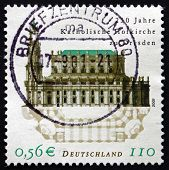 Postage Stamp Germany 2001 Dresden Cathedral