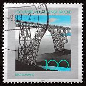 Postage Stamp Germany 1997 Mungsten Bridge