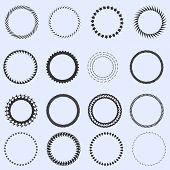Circle Frames Set