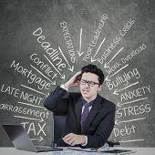 Depressed Entrepreneur With Work Pressure