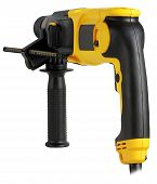 Professional Rotary Hammer With A Drill.