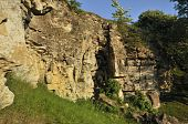 Disused Cotswold Limestone Quarry