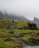 Footpath To The Quiraing Mountain, Isle Of Skye