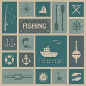 fishing background,