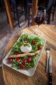 Mozzarella And Salad
