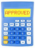 Calculator With Approved