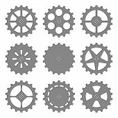 Gears And Cogs Set