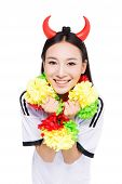 Asian Girl Cheerleader, Chinese