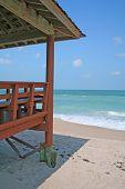 Covered Dock Beach Cabana