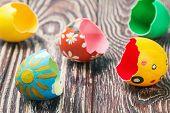 Shells Of Easter Eggs