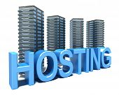vor der graue Server Hosting