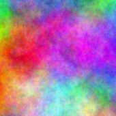 Abstract rainbow watercolor background.