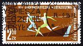 Postage Stamp Poland 1962 Race 100M Dash