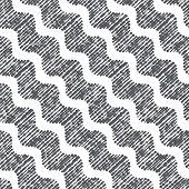 Repeating Ornament Dotted Diagonal Wavy