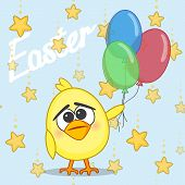 Chicken With Balloons