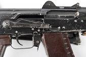 Kalashnikov Rifle. Second Safety Lever Position.
