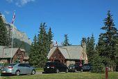 Entrance at Banff National Park.