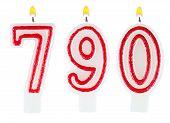 Candles Number Seven Hundred Ninety