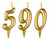 Candles Number Five Hundred Ninety