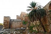 picture of crusader  - Byblos Crusader Castle seen here on a white background - JPG