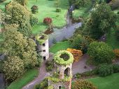 View From Blarney Castle In Ireland