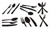 Spoon, Knife, Fork