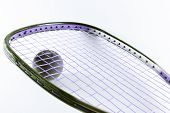 Racquetball Racquet And Ball