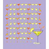 Martini with Summer Lemon