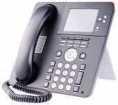 Ip Telephone On White