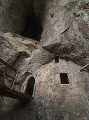 Predjama Castle Cave Walls