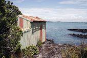 Barco Ilha Rangitoto galpão 02