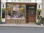 London's Barber And Perfumer Shop For Gentlemen since 1875 Geo F Trumper