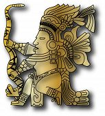 pic of iroquois  - the vector mayan and inca tribal eps - JPG