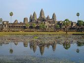 Постер, плакат: Ангкор Ват Камбоджа