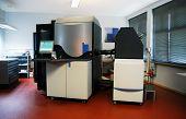 Digital press printing machine