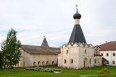 The Kirillo-belozersky Monastery. Church Of St. Efimiya Courtyard.