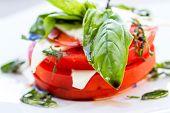 Fresh Caprese Salad poster