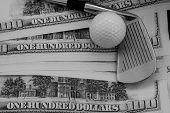 Golf Club, Ball - More Money