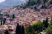 Taormina pueblo Town In Italy