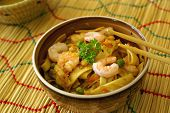 Chow Mein With Prawns poster