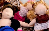Dolls Exhausted After A Hard Day