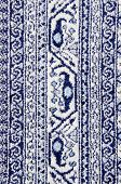 Old Fabric Carpet Textures And Ornaments.