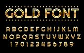 Gold Gambling Alphabet. Elegant Rich Casino Abc, Golden Borders Font 3d Symbols, Gold Chic Letters F poster