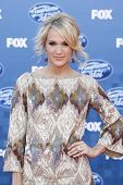 LOS ANGELES - MAY 25: Carrie Underwood at the American Idol Finale at the Nokia Theater in Los Angel