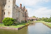 stock photo of hever  - Hever castle in England and its beautiful surroundings - JPG