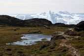 The Sermermiut Valley And The Icefjord Near Ilulissat