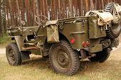 American Army Car