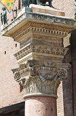 City Hall. Ferrara. Emilia-Romagna. Italy.