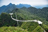 Pictures Of And From The Amazing Langkawi Sky Bridge On The Top Of Gunung Mat Cincang Mountain poster